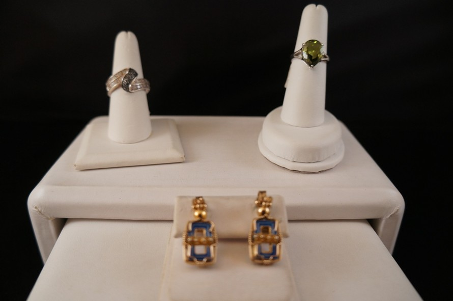 asheville jewelry RINGS AND EARRINGS